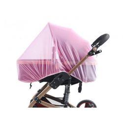 Κουνουπιέρα Καροτσιού 75 x 70 x 0.5 cm Χρώματος Ροζ SPM DB5813