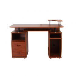 Ξύλινο Γραφείο με Θέση για Υπολογιστή και Πληκτρολόγιο 120 x 55 x 85 cm HOMCOM 920-011