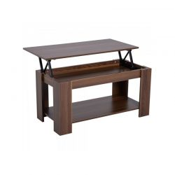 Ξύλινο Τραπέζι Σαλονιού 100 x 50 x 63 cm HOMCOM 833-549