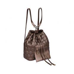 Γυναικεία Τσάντα Πλάτης Χρώματος Copper Beverly Hills 711 657BHP0817