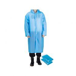 Αδιάβροχη Καμπαρντίνα με Κουκούλα 2 τμχ Χρώματος Μπλε SPM DB6586