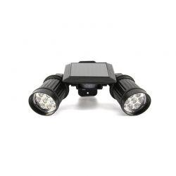 Διπλός Ηλιακός LED Προβολέας με Ανιχνευτή Κίνησης Hoppline HOP1000842-1