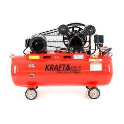 Αεροσυμπιεστής Λαδιού 100 Lt 400 V Kraft&Dele KD-404