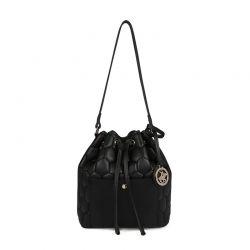 Γυναικεία Τσάντα Ώμου Χρώματος Μαύρο Beverly Hills Polo Club 621 657BHP0821