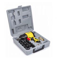 """Πνευματικό Μπουλονόκλειδο 1/2"""" 1550 Nm με Βαλιτσάκι POWERMAT PM-KPU-1550T"""
