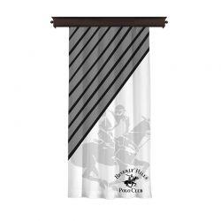 Κουρτίνα με Τρουκς 140 x 260 cm Beverly Hills Polo Club 176BHP8803
