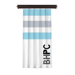Κουρτίνα με Τρουκς 140 x 260 cm Χρώματος Λευκό Beverly Hills Polo Club 176BHP8812