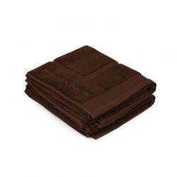Σετ με 2 Χαλάκια Μπάνιου 50 x 86 cm Χρώματος Καφέ Beverly Hills Polo Club 355BHP2203