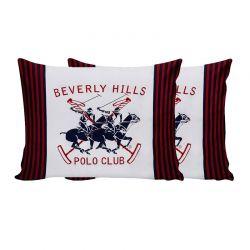 Σετ Μαξιλαροθήκες 50 x 70 cm 2 τμχ Beverly Hills Polo Club 176BHP0112