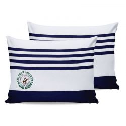 Σετ Μαξιλαροθήκες 50 x 70 cm 2 τμχ Χρώματος Λευκό Beverly Hills Polo Club 176BHP0107