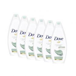 Αφρόλουτρο Dove Purifying Detox Green Clay Anti-Pollution 250 ml 6 τμχ DOVE-PurDet250-6PCS
