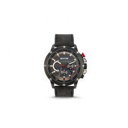 Ανδρικό Ρολόι με Μαύρο Σουέτ Δερμάτινο Λουράκι Extri X6005B 8719325422504