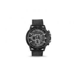 Ανδρικό Ρολόι με Μαύρο Σουέτ Δερμάτινο Λουράκι Extri X6020B 8719325422603