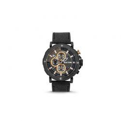 Ανδρικό Ρολόι με Μαύρο Σουέτ Δερμάτινο Λουράκι Extri X6029D 8719325422481