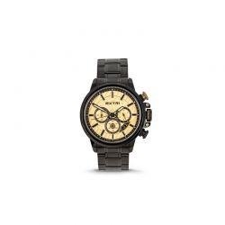 Ανδρικό Ρολόι Χρώματος Μαύρο με Μεταλλικό Μπρασελέ Extri X6011B 8719325422559