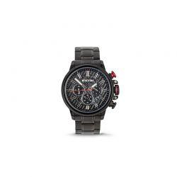 Ανδρικό Ρολόι Χρώματος Μαύρο με Μεταλλικό Μπρασελέ Extri X6011C 8719325422566