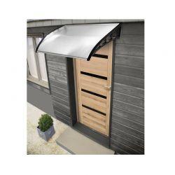 Πλαστικό Κιόσκι - Τέντα Πόρτας Εισόδου 80 x 120 cm Χρώματος Διάφανο Inkazen 40070224
