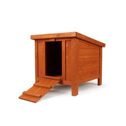 Ξύλινο Σπίτι για Μικρά Ζώα 43 x 51.5 x 43 cm Pratik GARDEN 30100049