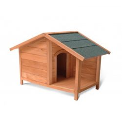 Ξύλινο Σπίτι Σκύλου με Βεράντα M/L 102 x 64 x 65 cm Pratik GARDEN 10110003