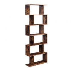 Ξύλινη Βιβλιοθήκη με 6 Ράφια 70 x 24 x 190.5 cm VASAGLE LBC61BX
