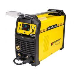 Ημιαυτόματη Ηλεκτροκόλληση Inverter 230A 230V MIG / MAG / MMA / LIFT-TIG SYNERGY IGBT POWERMAT PM-IMGS-230L