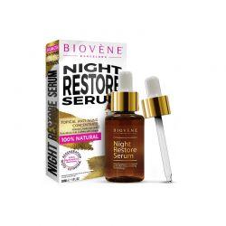 Ορός Επαναφοράς Night Restore Serum Νυκτός 30 ml Biovene BV-NRS