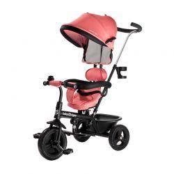 Τρίκυκλο Παιδικό Ποδήλατο - Καρότσι Baby Tiger Fly Χρώματος Κοραλί
