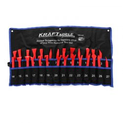 Σετ Εργαλεία Αφαίρεσης Ταπετσαρίας - Κλιπς Αυτοκινήτου 27 τμχ Kraft&Dele KD-1130