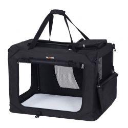 Τσάντα Μεταφοράς Σκύλου 60 x 40 x 40 cm Χρώματος Μαύρο Songmics PDC60H