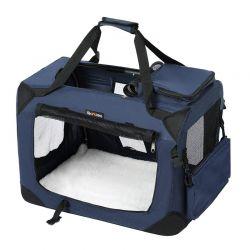 Τσάντα Μεταφοράς Σκύλου 60 x 40 x 40 cm Χρώματος Μπλε Songmics PDC60Z