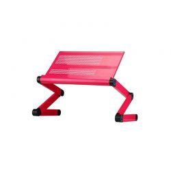 Πτυσσόμενο Τραπεζάκι για Laptop Χρώματος Ροζ SPM R162318