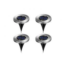Σετ Ηλιακά Φώτα με LED Φωτισμό 4 τμχ Hoppline HOP1000960-1