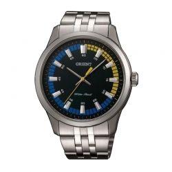 Ανδρικό Ρολόι με Μεταλλικό Μπρασελέ Orient SQC0U005F0