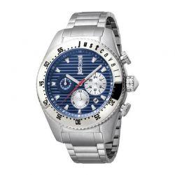 Ανδρικό Ρολόι από Ανοξείδωτο Ατσάλι με Μεταλλικό Μπρασελέ Just Cavalli JC1G040M0075