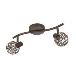 Μεταλλικό LED Φωτιστικό Σποτ Οροφής 2 x 28 W Hosta Massive 5581243PN