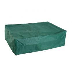 Ορθογώνιο Προστατευτικό Κάλυμμα για Έπιπλα Κήπου 222 x 155 x 67 cm Outsunny 84B-212