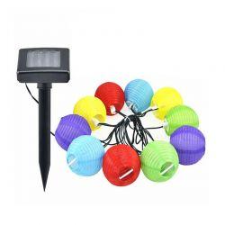 Ηλιακή Γιρλάντα Φωτισμού LED με 10 Λαμπτήρες 2.4 m Hoppline HOP1000151