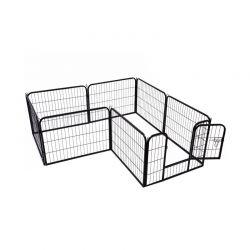 Μεταλλικό Κλουβί - Πάρκο Εκπαίδευσης Κατοικίδιου 80 x 60 cm PawHut 5663-1306