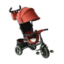Τρίκυκλο Παιδικό Ποδήλατο - Καρότσι Χρώματος Κόκκινο HOMCOM 370-027RD