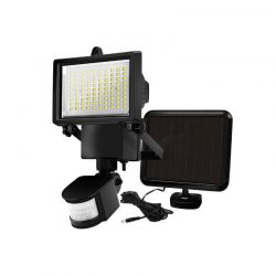 Ηλιακός Προβολέας με 60 LED και Ανιχνευτή Κίνησης 4 W Hoppline HOP1000961-1