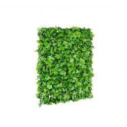 Πτυσσόμενη Πέργκολα με 768 Τεχνητά Φύλλα Δάφνης 2 x 1 m Χρώματος Πράσινο Inkazen 40022183