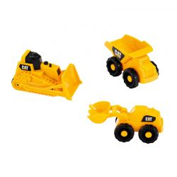 Σετ Παιδικών Οχημάτων 3 τμχ CAT Klein 3236
