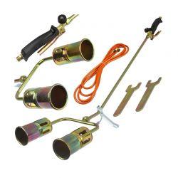 Φλόγιστρο Αερίου με Μπουρού και Διπλό Ακροφύσιο MAR-POL M78392