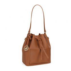Γυναικεία Τσάντα Ώμου Χρώματος Καφέ Beverly Hills Polo Club 591 v2 657BHP0504