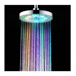 """Κεφαλή Ντους Βροχής με Πολύχρωμο LED Φωτισμό 8"""" SPM DB5331"""