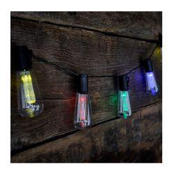 Ηλιακοί Πολύχρωμοι Λαμπτήρες LED 10 τμχ GloBrite Vintage Edison VL1967