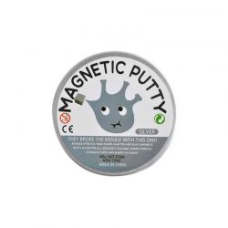 Μαγνητική Πλαστελίνη Χρώματος Ασημί SPM 8230