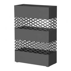 Μεταλλική Ομπρελοθήκη 28 x 12 x 41 cm Χρώματος Μαύρο Songmics LUC02BK