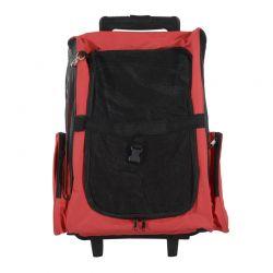 Σακίδιο Πλάτης - Τρόλεϊ για Μεταφορά Κατοικίδιων Χρώματος Κόκκινο PawHut D1-0012