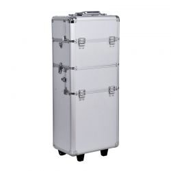 Βαλίτσα Μακιγιάζ Τρόλεϊ Αλουμινίου HOMCOM 81-0002